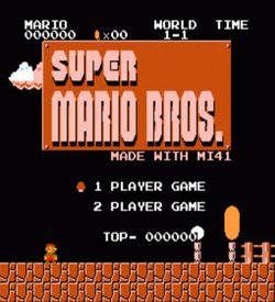 Mario MI41 (SMB1 Hack) [a1] ROM