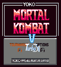 Mortal Kombat V1996 Turbo 30 Peoples ROM