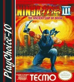 Ninja Gaiden 3 - The Ancient Ship Of Doom (PC10) ROM
