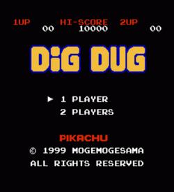 Pikachu Dig Dug (Hack) ROM