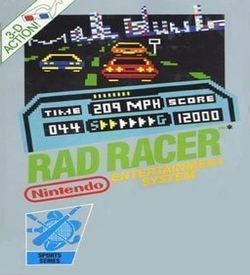 Rad Racer ROM