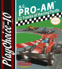 RC Pro-Am (PC10) ROM