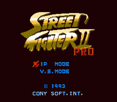 Street Fighter 2 Pro