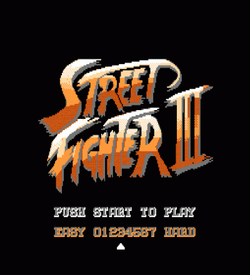 Street Fighter 3 ROM