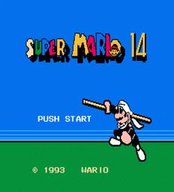 Super Mario 14 ROM