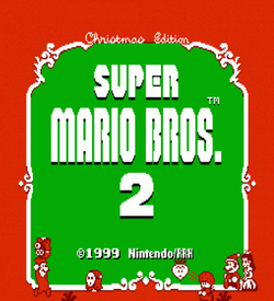 Super Mario Bros 2 - Christmas Edition (SMB2 Hack) [a1] ROM