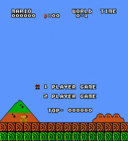 Super Mario Bros 2000 (SMB1 Hack) ROM
