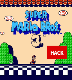 Super Mario Bros 3 (PRG 0) (MR207 Hack) ROM