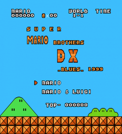 Super Mario Bros DX (SMB1 Hack) ROM