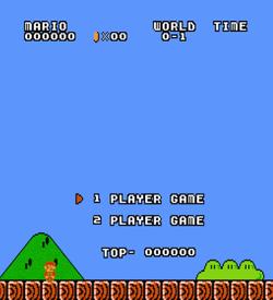 Super Mario Bros Enhanced (SMB1 Hack) ROM