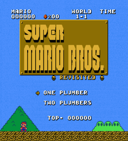 Super Mario Bros Revisited V4.3 (SMB1 Hack) ROM