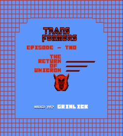 Transformers Episode 2 - Return Of Unicon (SMB2 Hack) ROM