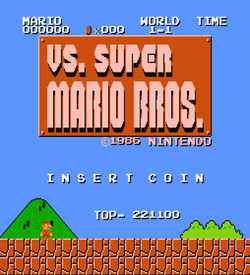 VS Super Mario Bros (VS) [a1] ROM