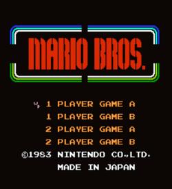 Wolfpack Classic (Mario Bros Hack) ROM