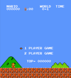 Wolfpack Mario (SMB1 Hack) ROM