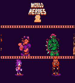 World Heroes 2 ROM