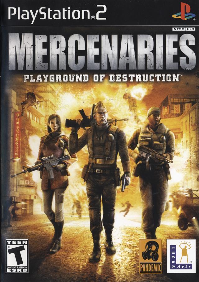 Mercenaries - Playground Of Destruction
