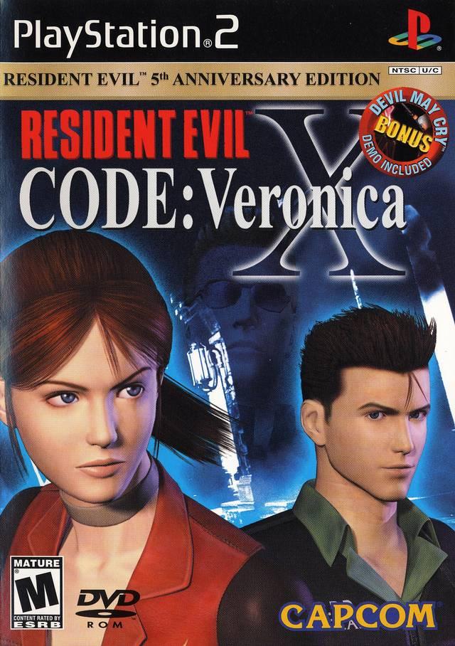 Resident Evil - Code - Veronica X