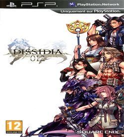 Dissidia 012 - Duodecim Final Fantasy ROM