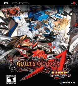 Guilty Gear XX Accent Core Plus ROM