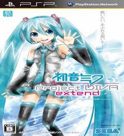 Hatsune Miku - Project Diva Extend ROM