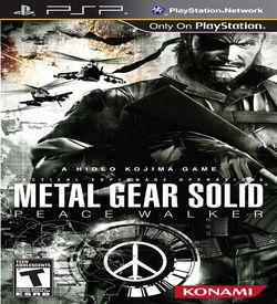 Metal Gear Solid - Peace Walker ROM