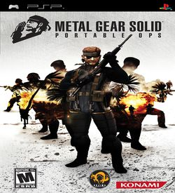Metal Gear Solid - Portable Ops ROM