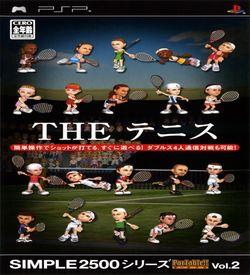 Simple 2500 Series Portable Vol. 2 - The Tennis ROM