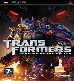 Transformers - Revenge Of The Fallen ROM