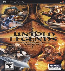 Untold Legends - Brotherhood Of The Blade ROM