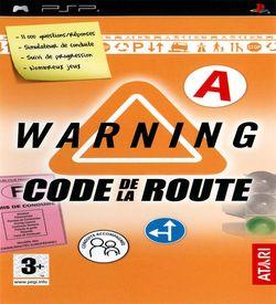 Warning - Code De La Route ROM