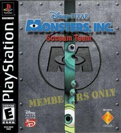 Monsters Inc. Scream Team [SCUS-94635] ROM