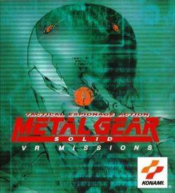 Metal Gear Solid Vr Missions [SLUS-00957] ROM
