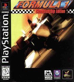 Formula 1 Championship Edition [SLUS-00546] ROM