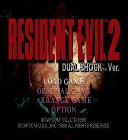 Resident Evil 2 Dual Shock CD1 [SLUS-00748] ROM