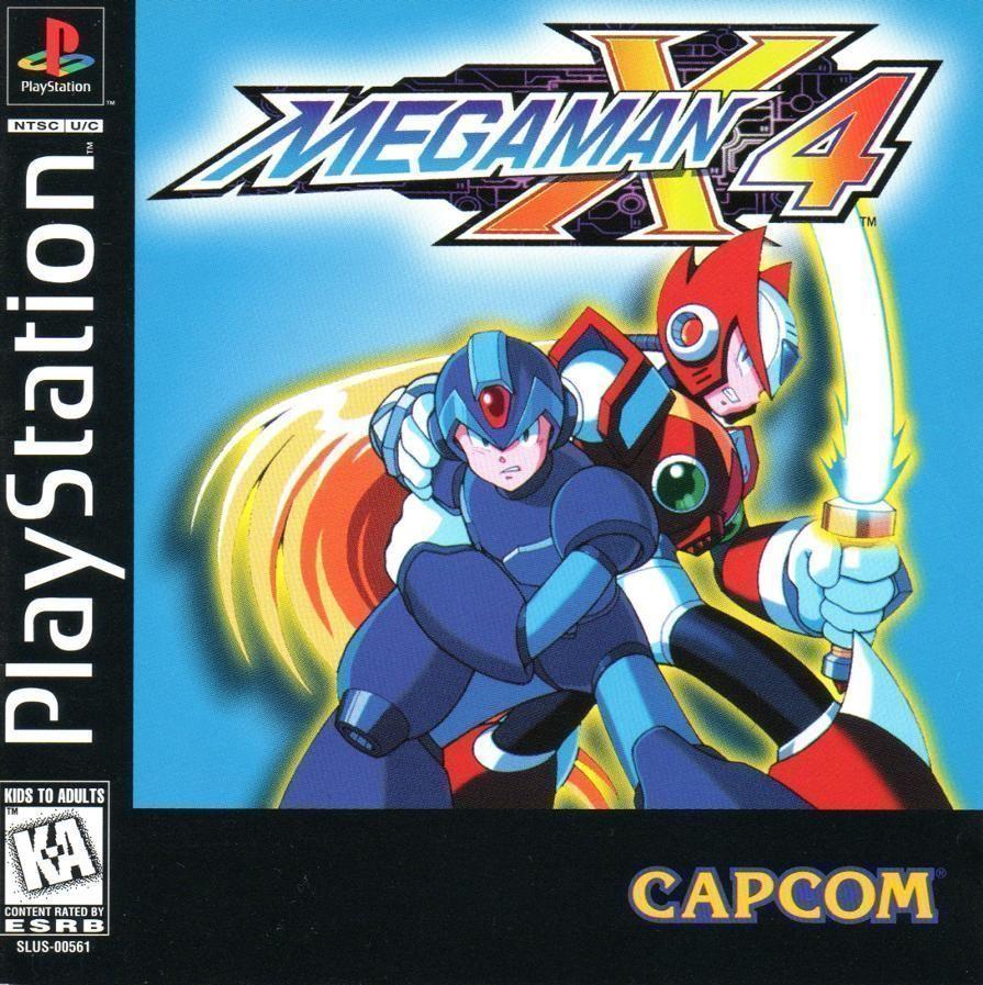 Megaman X4 [SLUS-00561]
