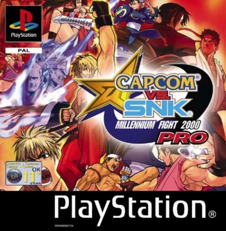 Capcom Vs. SNK - Millennium Fight 2000 Pro [SLUS-01476]