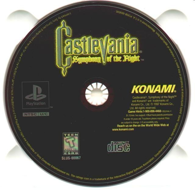 Castlevania - Symphony Of The Night [SLUS-00067]