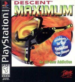 Descent Maximum [SLUS-00460] ROM