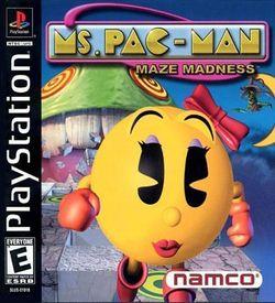Ms. Pacman Maze Madness [SLUS-01018 ROM