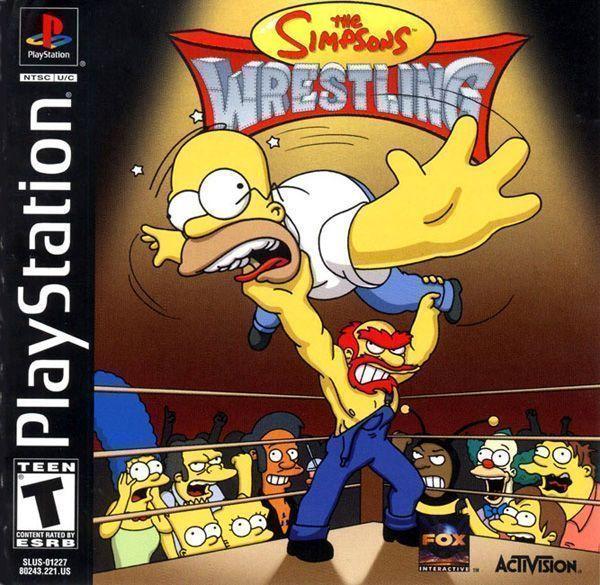 Simpsons Wrestling [SLUS-01227]