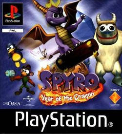 Spyro The Dragon 3 Year Of The Dragon [SCUS-94467] ROM