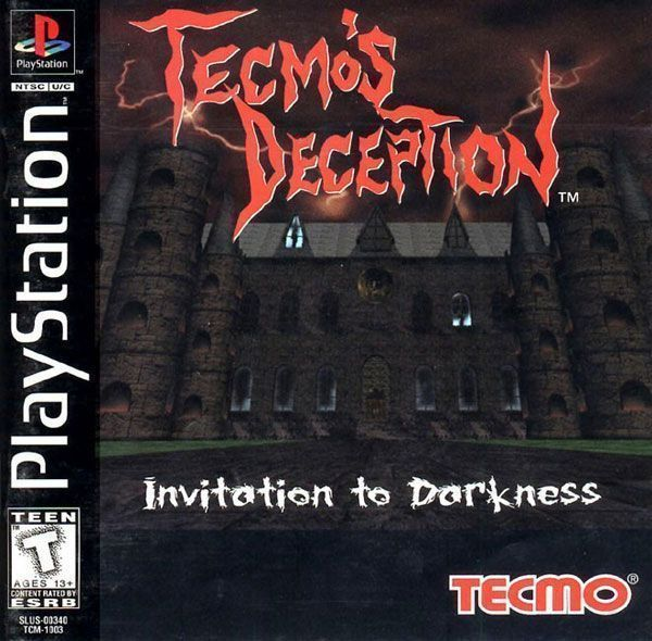 Tecmo S Deception Invitation To Darkness [SLUS-00340]