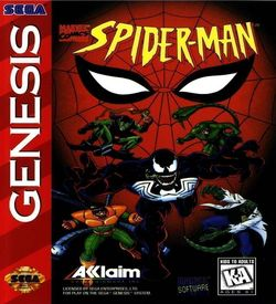 Spider-Man - The Animated Series (JUE) ROM