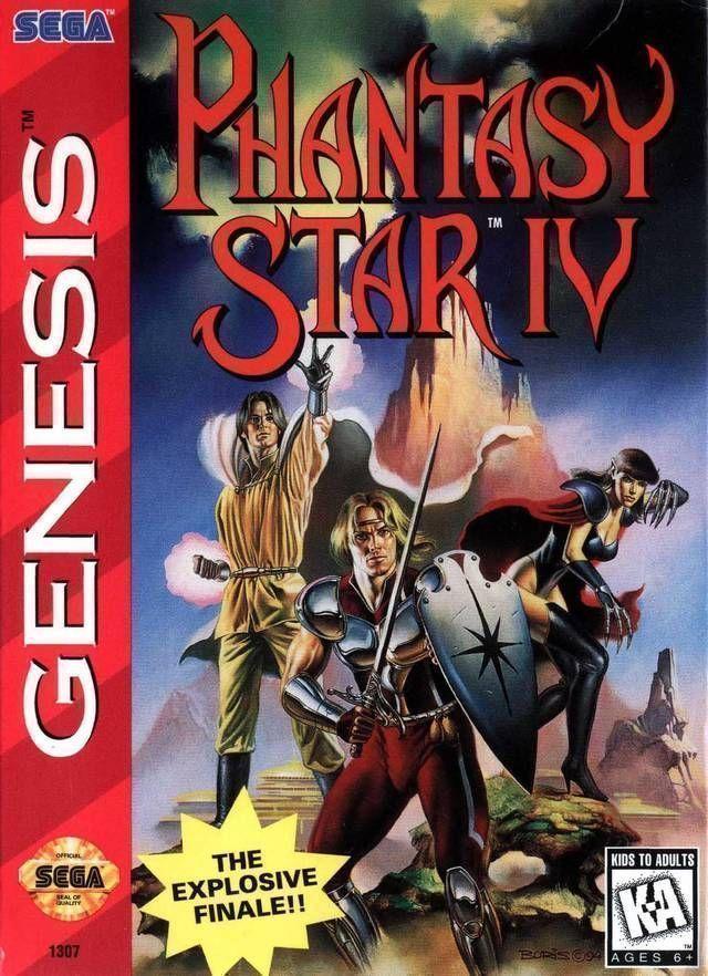 Phantasy Star IV (4)