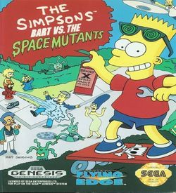 Simpsons, The - Bart's Nightmare (JUE) ROM