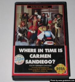 Where In Time Is Carmen Sandiego ROM