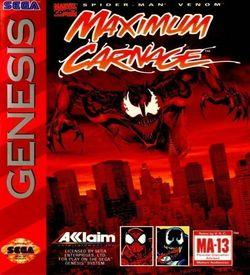 Spider-Man And Venom - Maximum Carnage (JUE) ROM