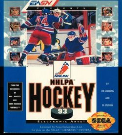 NHLPA NHL '93  (REV 00) ROM