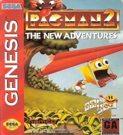 Pac-Man 2 - The New Adventures ROM